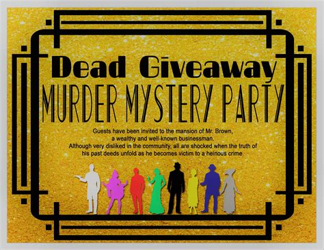 Dead Giveaway Meaning - murder mysteries for good clean fun