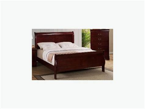 Solid Wood Sleigh Bed Solid Wood Sleigh Bed Frame Saanich