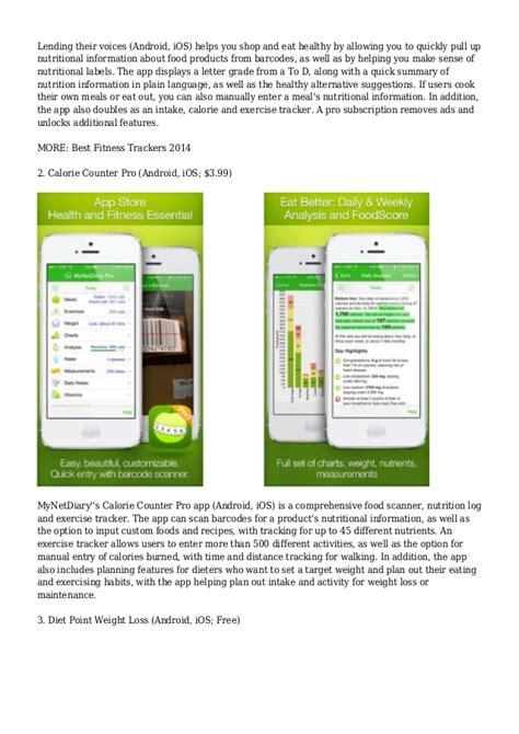 best nutritional diet 8 best diet nutrition apps