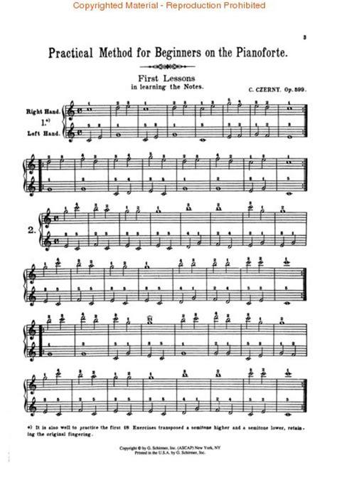 Buku Piano Czerny Op 599 practical method for beginners op 599 sheet by