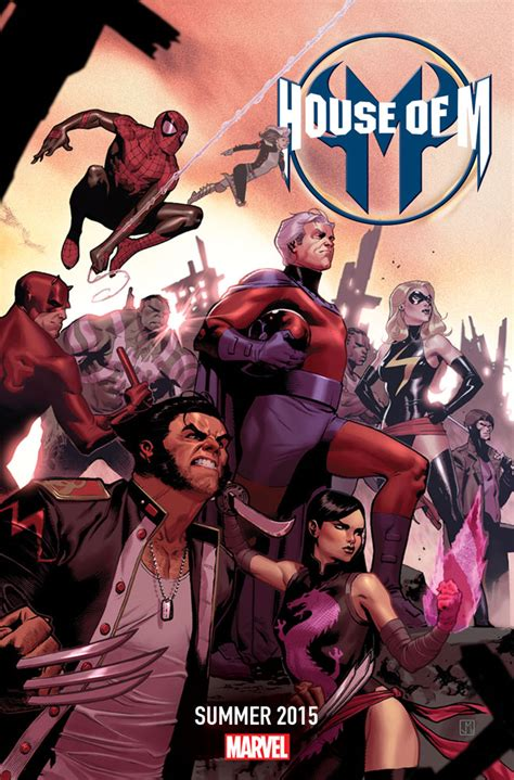house of m marvel to reopen the house of m in 2015 newsarama com