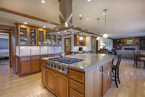 kitchen islands with cooktops kitchen island cooktop photos