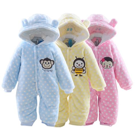 Clothes Baby 1 2015 autumn winter baby clothes baby rompers polar fleece baby clothing infant clothes one