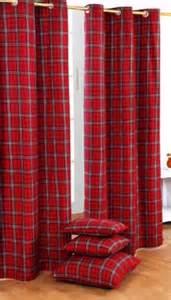 Tarten Curtains Tartan Curtain