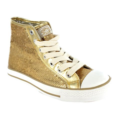 gold sequin high top sneakers disco high top gold sequin 171 dynamic sneakers