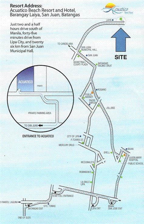 acuatico resort map ako si blokoy acuatico resort laiya batangas