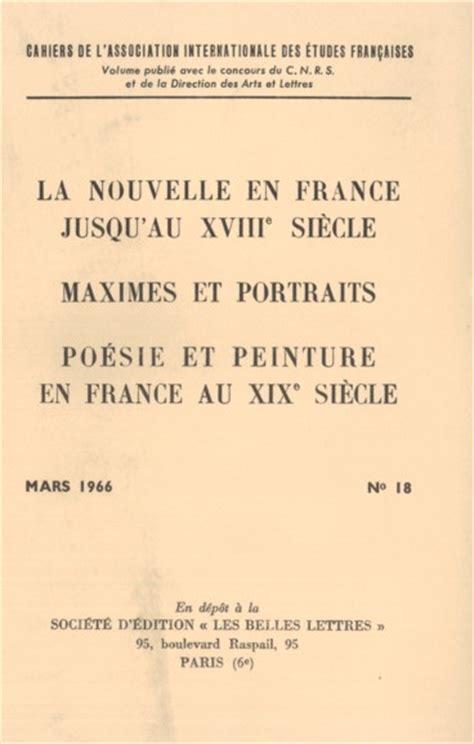 Exemple De Lettre Littéraire La 232 Se De La Nouvelle En Au Moyen Age Pers 233 E