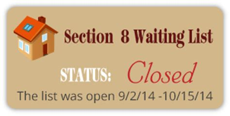 section 8 ga waiting list st george housing authority