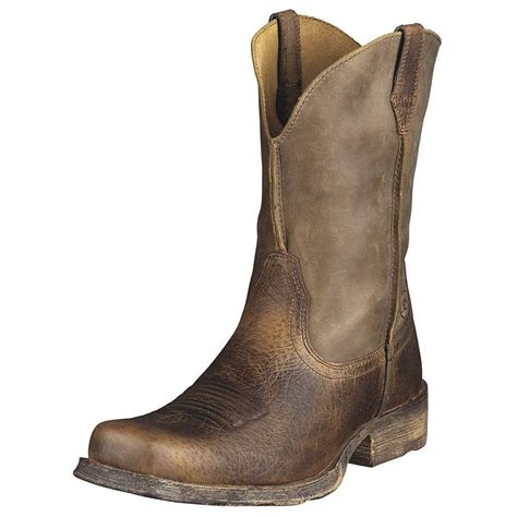 ariat toe boots ariat mens rambler square toe boots