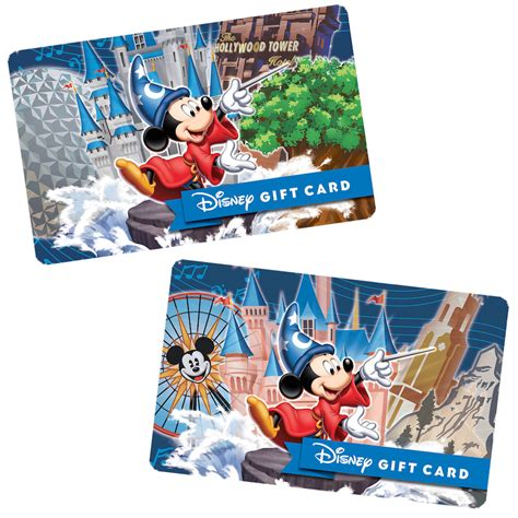 Disney Resort Gift Cards - ring in the new year with new disney park themed disney gift cards 171 disney parks blog