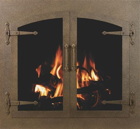 best fireplace doors low cost fireplace screens fireplaces