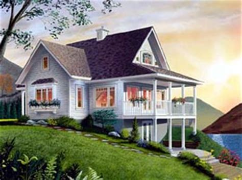 Small Hillside Home Plans by Kitchen Counter Design Hillside House Plans Small Cottage