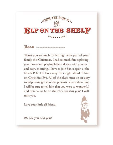 search results for elf on shelf goodbye letter template elf on the shelf welcome back letter search results