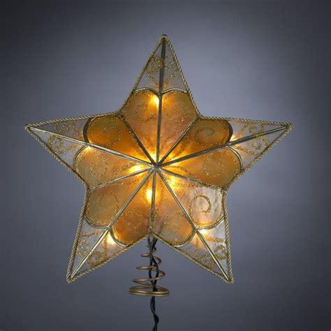 kurt adler 9 christmas tree star toppers pinterest