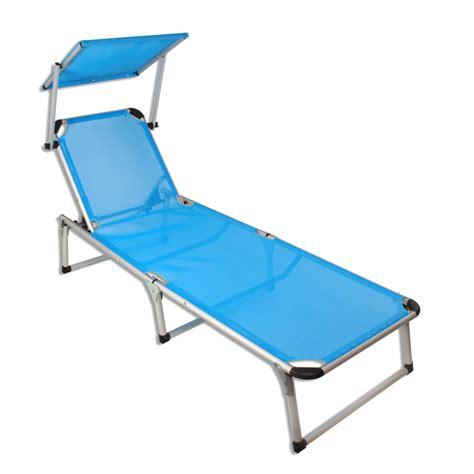 chaise longue avec pare soleil alu chaise longue avec pare soleil plage chaise longue de