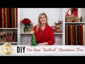 no sew quilted christmas ornament with jennifer