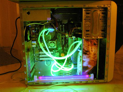 water cooler fan pc home made pc water cooling