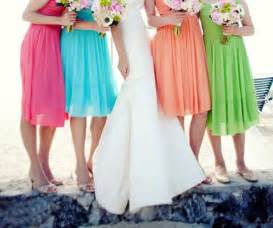 colorful bridesmaid dresses choosing the right bridesmaid dresses to vivify your