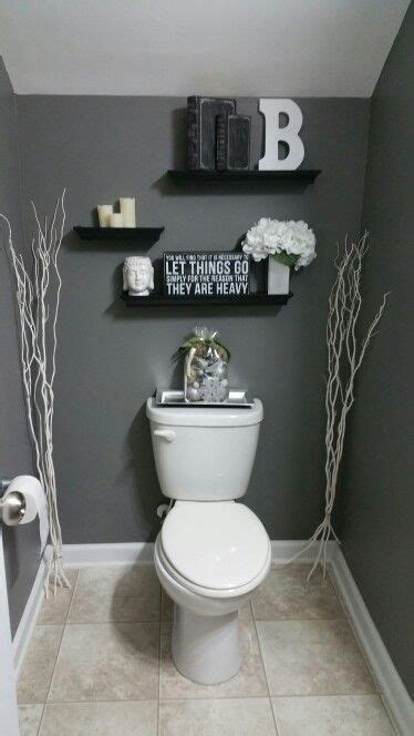 bathroom decorating ideas diy best 25 grey bathroom decor ideas on pinterest half