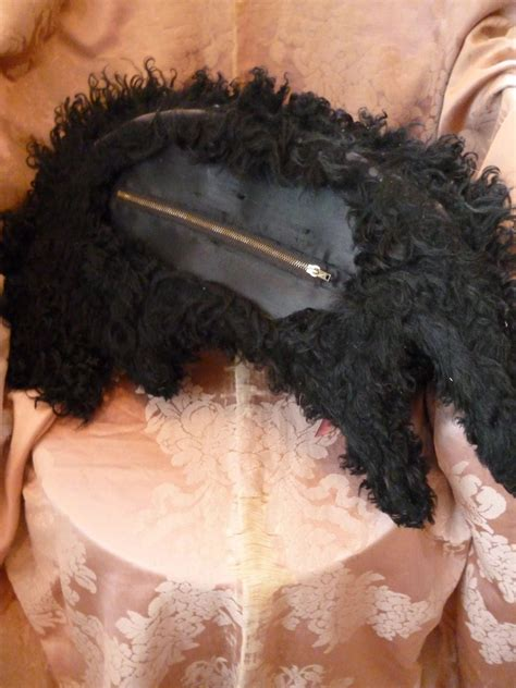 Coco Ribbon Boudior Chic by Quot Coco Quot Chic Poodle Boudoir Pajama Black Curly