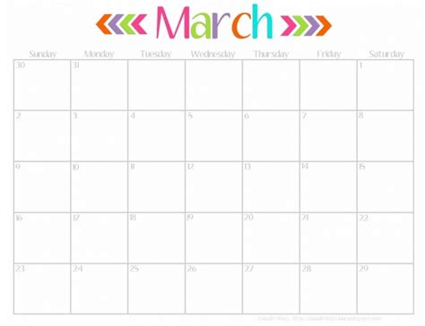 printable calendar april 2016 march 2017 march 2017 calendar cute weekly calendar template