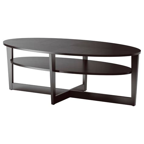 espresso sofa table with drawers oval coffee table ikea oval table w x base 179 vejmon