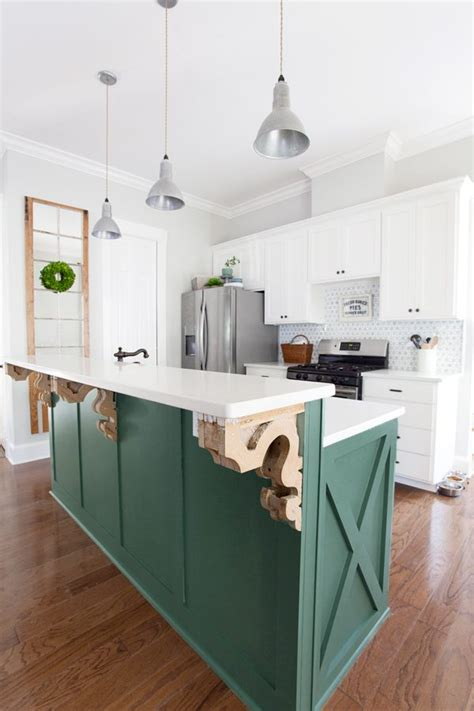 green cabinets cottage kitchen sherwin williams farmhouse fresh kitchen plans the lettered cottage