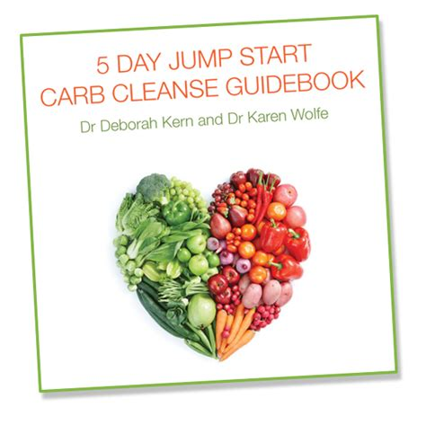 10 Day Detox Cleanse Book by 5 Day Carb Cleanse Guidebook Dr Deb Kern