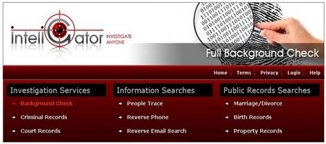Website For Background Check Background Check Website How Inteligator Helps Investigate Anyone V