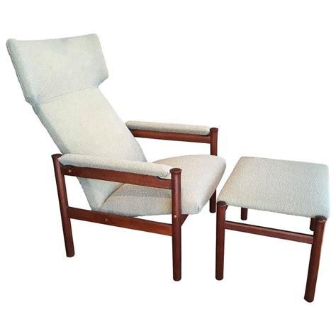 scandinavian chair and ottoman scandinavian modern wing chair and ottoman by soren hansen