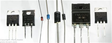 types of diodes diode types images