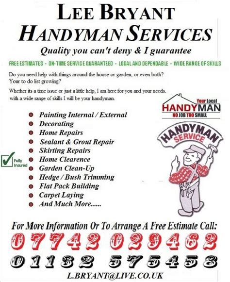 Home Decorators Review by Lb Handyman Handyman In Bramley Leeds Uk
