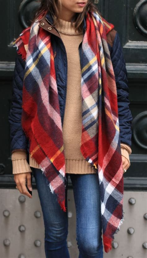 7 Scarf Styles For Fall by 75 Fall To Wear Now Page 3 Of 4