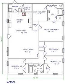 Floorplans by Top 5 Metal Barndominium Floor Plans For Your Dream Home