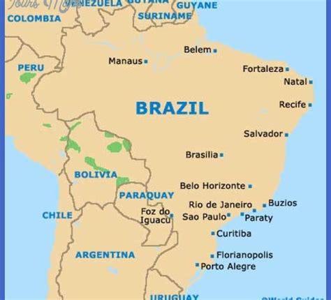 map usa brazil de janeiro map tourist attractions map travel