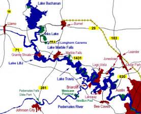 highland lakes map s tuppence 2 cents in brit tx lakes in the