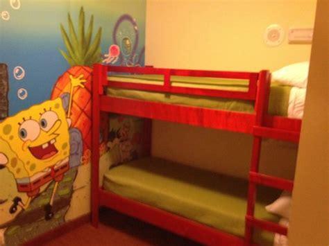 Spongebob Bunk Bed Sponge Bob Bunk Beds Picture Of Nickelodeon Suites Resort Orlando Tripadvisor