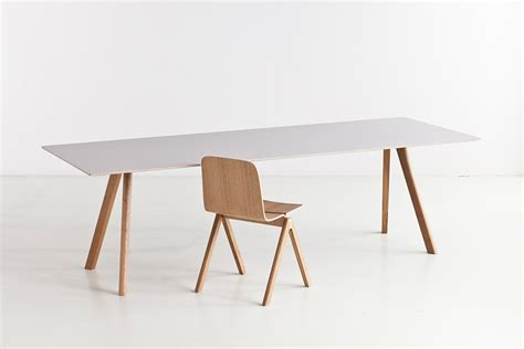 Oak Dining Room Table And Chairs by Hay Copenhague Table Cph30