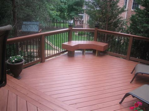 Composite Patio by Deck Boards Screwing Composite Deck Boards