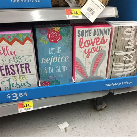 Walmart Easter Decorations by The Rack Easter Decor At Walmart The Budget