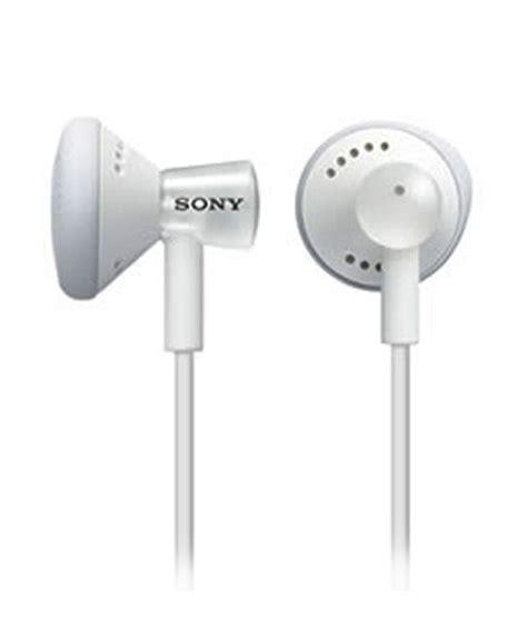 Sony Earphone Mdr E9 Lp White sony mdr e11lp earphones white without mic buy sony