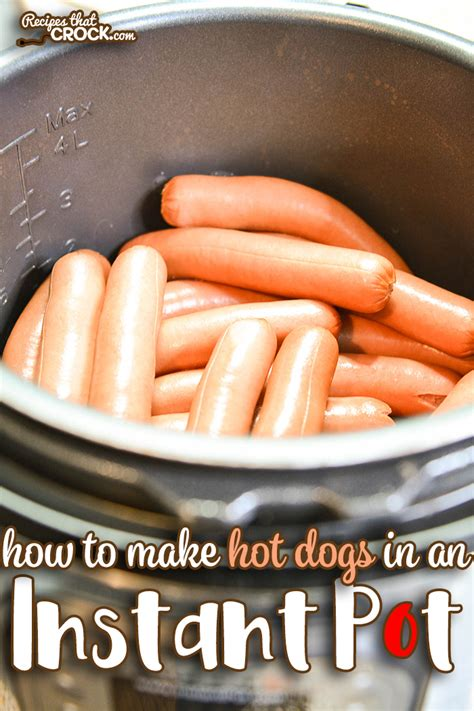 how does it take to boil dogs instant pot dogs in bulk recipes that crock