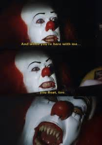 pennywise the clown quotes quotesgram
