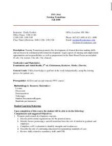 Exle Of Lpn Resume by Entry Level Lpn Resume Free Resume Templates