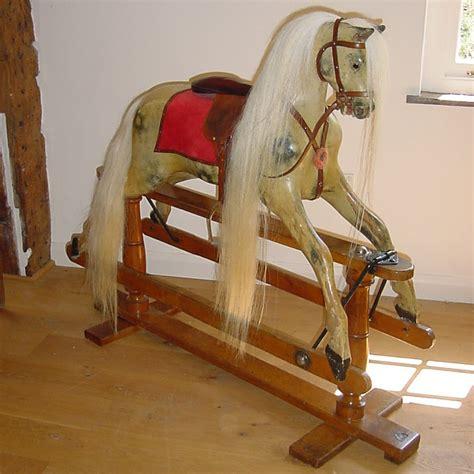 Antiques Decorative Lines Rocking Horse Antique Rocking Horses