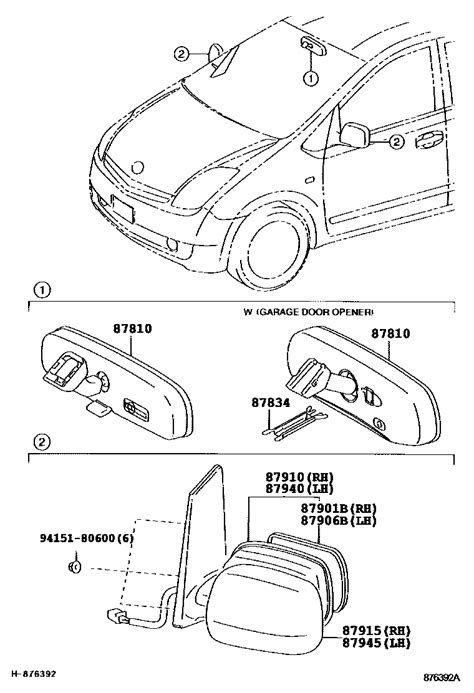 toyota parts diagram toyota parts diagram auto parts diagrams