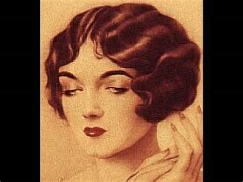 long curly hairstyles of the 20s and 30s 1920s 1930s hair tutorial for long hair youtube