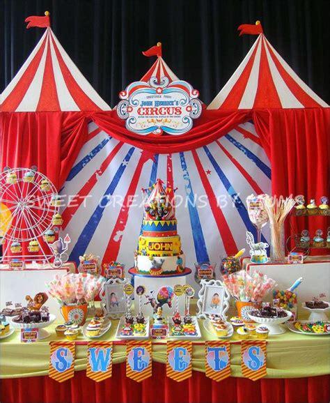 circus theme decoration madagascar circus birthday ideas photo 5 of 5