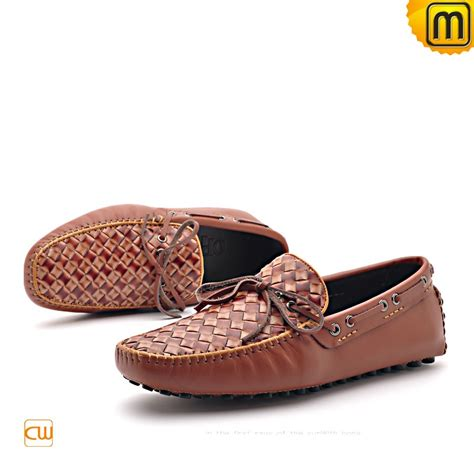 means loafers mens leather driving loafers shoes cw712037