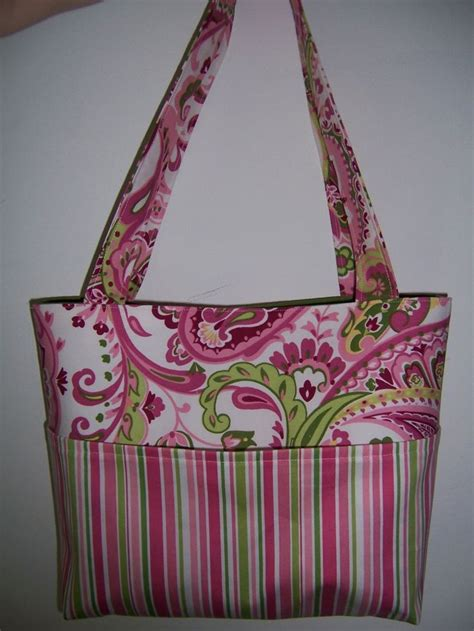 Easy Tote Bag Pattern With Pockets | aivilo tote bag easy pdf purse sewing pattern 4 sizes